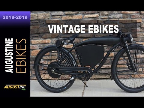 HOT EBIKES.  Awesome vintage style Electric Bikes