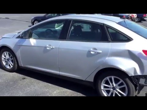 Stoystown Auto Sales >> 2015 Ford Focus Sdn Silver Near Pittsburgh Pa Salvage Title