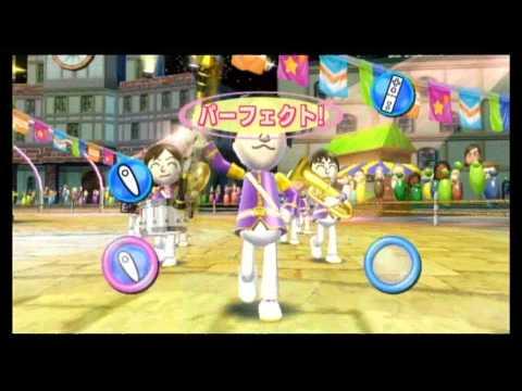 Wii Fit Plus Rhythm Parade 足踏みパレード Game Play HD