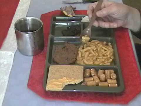 MRE Review: Menu 8 (2004) Beef Patty with Barbecue Sauce