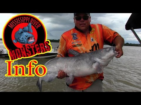 Mississippi River Monsters, Catfishing On The Mississippi River.