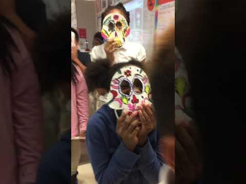 Paper Sugar Skulls Masks