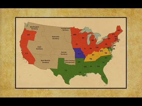 The Tumultuous Election 1860