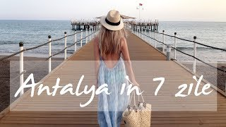 7 days in Antalya | Info trip