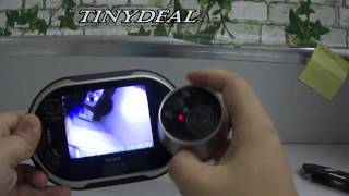 (STH-80403) 3.5 Inch TFT LCD Screen Digital Peephole Door Viewer