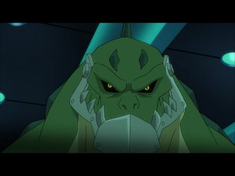 Nightwing and Flash vs Cheetah and Killer Croc - Batman Unlimited: Animal instincts