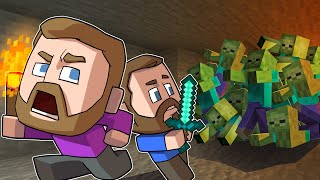 Cave ONLY Survival Challenge! | Minecraft