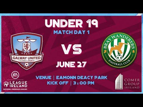 GUFC U19 1-0 BRAY U19   ACADEMY HIGHLIGHTS   27TH JUNE 21'