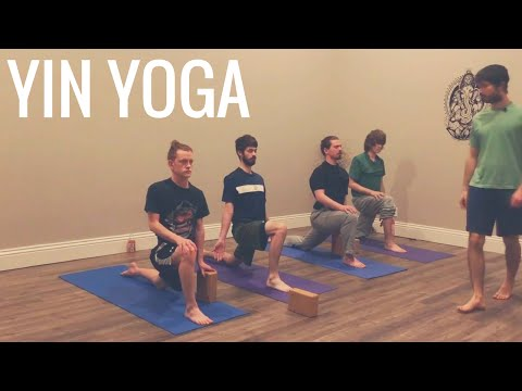 Yin Yoga Routine Designed for Men