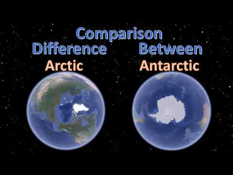 Difference between arctic and antarctic | Arctic Vs Antarctic Comparison