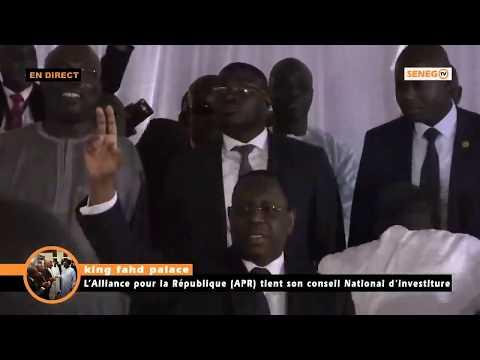 Revivez le Conseil National d'investiture du Président  Macky Sall