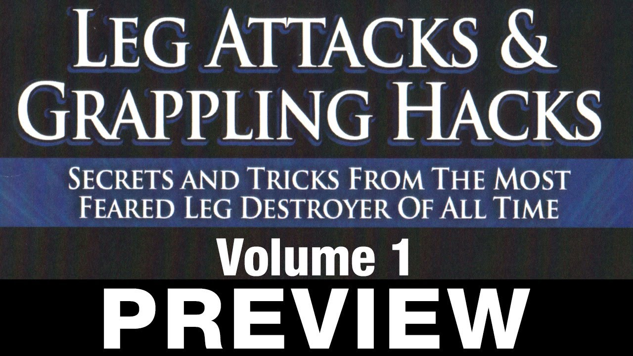 Leg Attacks & Grappling Hacks 4 DVD Set by Dean Lister