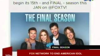 Fox Network to end American Idol