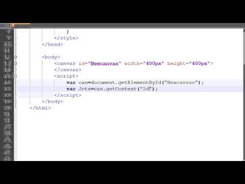 HTML5 Canvas tutorial 2 | Rectangles, internal CSS JavaScript