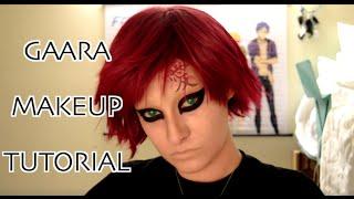 Gaara Makeup Tutorial