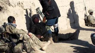 U.S Fight With Afghan Police