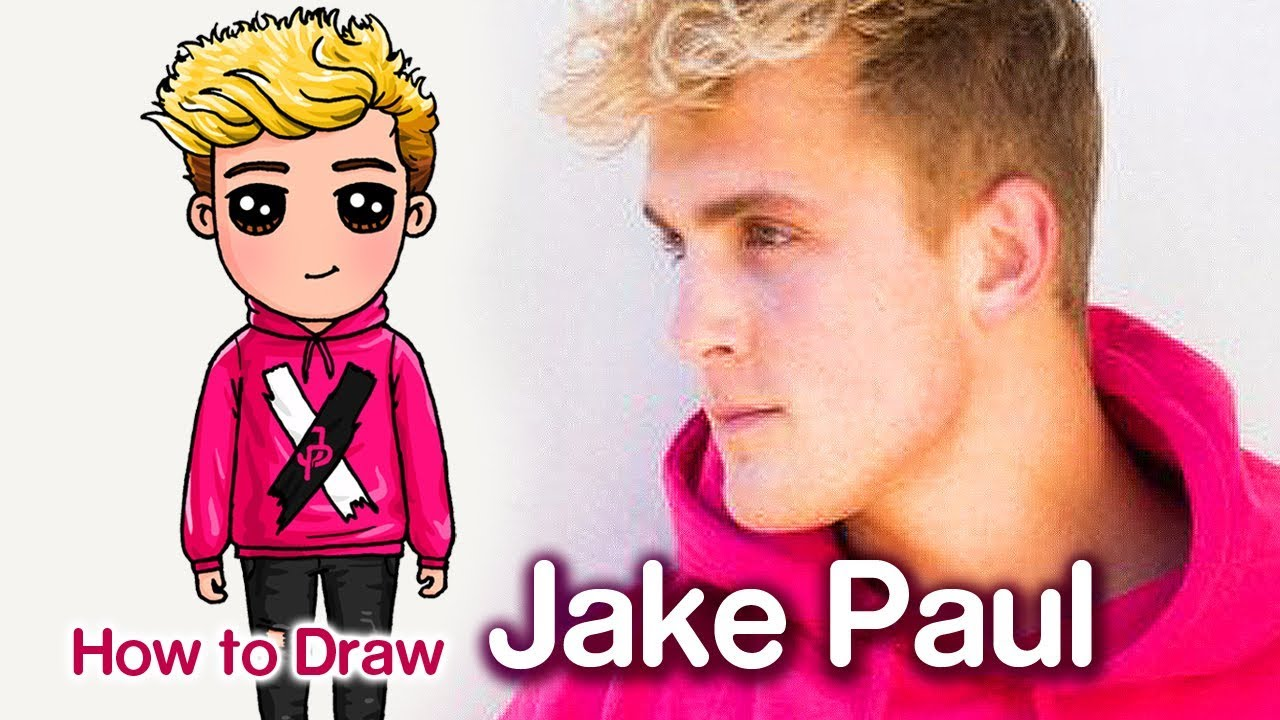 How To Draw Jake Paul Step By Step