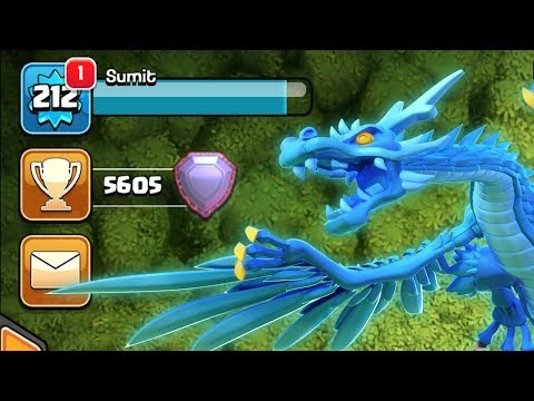 Now Electro Dragon Is Last Hope | Clash Of Clans Legend League Pushing COC