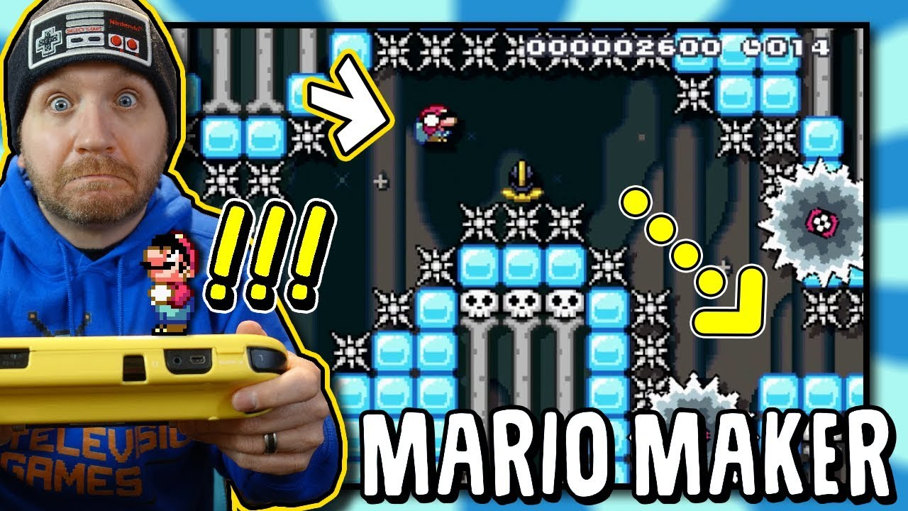 Repeat This 20 Second Mario Maker Level drove me crazy! by