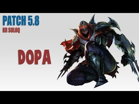 Học cách chơi Zed của DOPA - Thánh cày thuê
