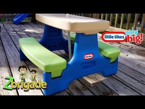 Little Tikes Easy Fold Jr. Play Table Review