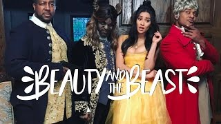 beauty and the beast trailer parody ft king bach pooch hall   shay mitchell
