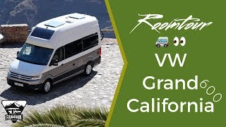 VW Grand California 600 - room tour and test report