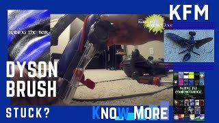 Dyson Vacuum Cleaner Brush Stopped Turning Will Not Spin Maintenance Repair Video