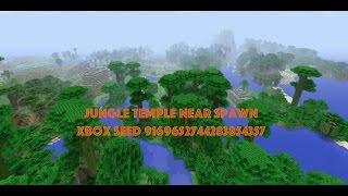 Ravine and Jungle Temple Spawn Seed Minecraft Xbox Nov 12 2016
