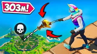 WORLD RECORD *LONGEST* MYTHIC FISH KILL!! - Fortnite Funny Fails and WTF Moments! #1202