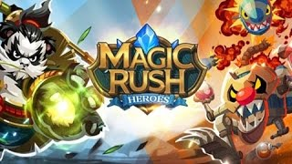 Magic Rush - Heroes. Трейлер