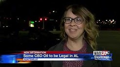 Some CBD oil to be legal in Alabama