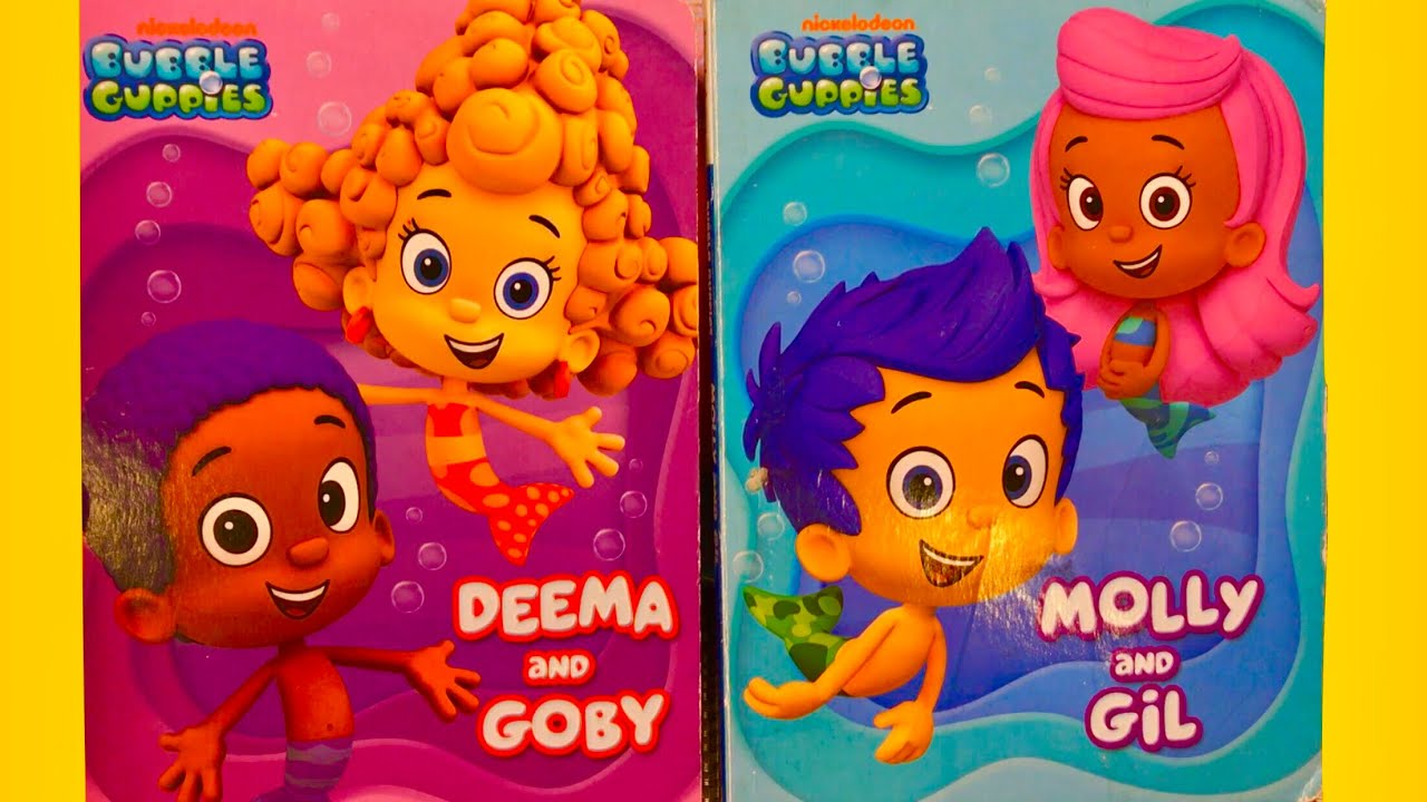 Bubble Guppies - BOOKS - Read Aloud - Deema and Goby - Molly and Gil