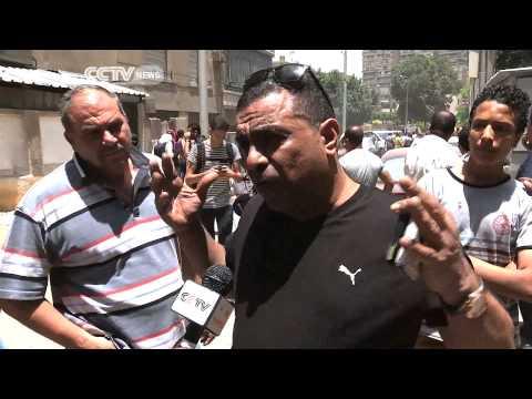 Egypt Blast Rocks Residential Suburb
