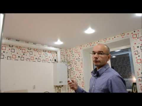 Натяжные потолки с точечными светильниками 604 фото