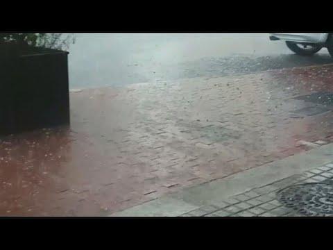 سقوط أمطار طوفانية في برشلونة  - نشر قبل 2 ساعة