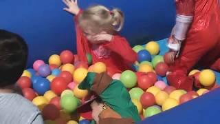 ДЕТСКИЙ ПАРК развлечений с шариками,Надувные горки, Мишель детский веселый праздник ПУРИМ Израиль