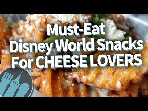 Disney World's 16 BEST Snacks For Cheese Lovers!
