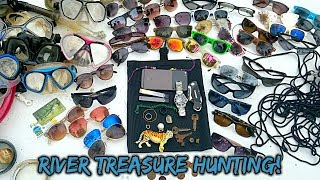 I Found a Google Pixel Phone Underwater, an Invicta Pro Diver Watch & More | River Treasure Hunting
