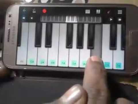 Nagin tune on mobile piano by Ankit Arya