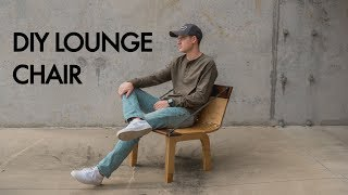This week, we decided to put our design and engineering skills to the test by building a wooden live hinge lounge chair. The chair is