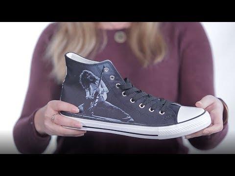 Martha Quinn - Eddie Van Halen Releases Commemorative High Top Sneakers