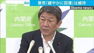 茂木大臣「緩やかな景気回復の基調は続いている」(19/07/24)