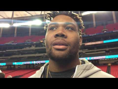 ArDarius Stewart talks Peach Bowl, his future, & team's focus
