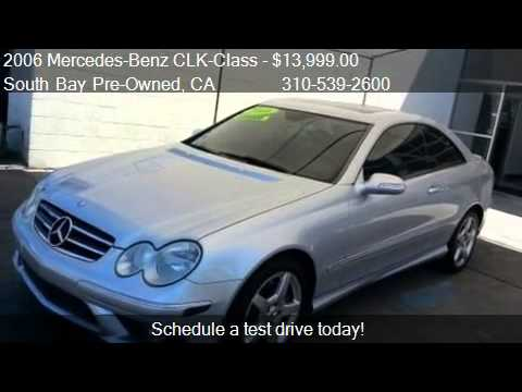2006 mercedes benz clk class clk500 coupe for sale in for Mercedes benz of south bay torrance ca 90505