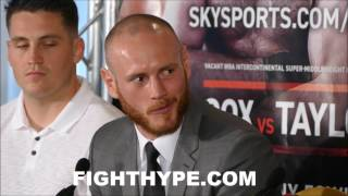 KELL BROOK VS. ERROL SPENCE FULL UNDERCARD FINAL PRESS CONFERENCE AND FACE OFFS