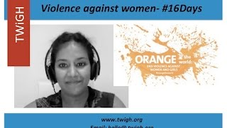 16 days of Activism & Gender Based Violence