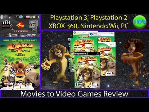 Movies to Video Games Review - Madagascar Escape 2 Africa (Consoles & PC)
