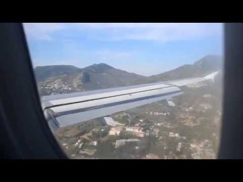 Finnair Airbus A319 Approach and Landing at Mytilini, Lesvos (LGMT)