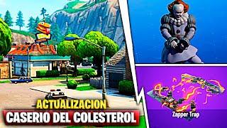 Update: Caserío del Colesterol, Pennywise Pack & Electric Trap Fortnite Battle Royale
